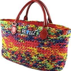 recycling purses bags | home purses and handbags recycled crocheted t shirt handbags