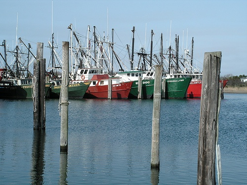 Fishing boats at viking village barnegat light nj home for Jersey shore fishing