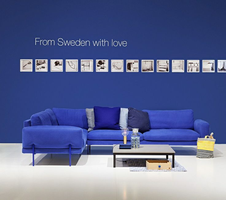 Armilla corner sofa for Ire Mobel at Stockholm Furniture Fair 2013. Designed by…