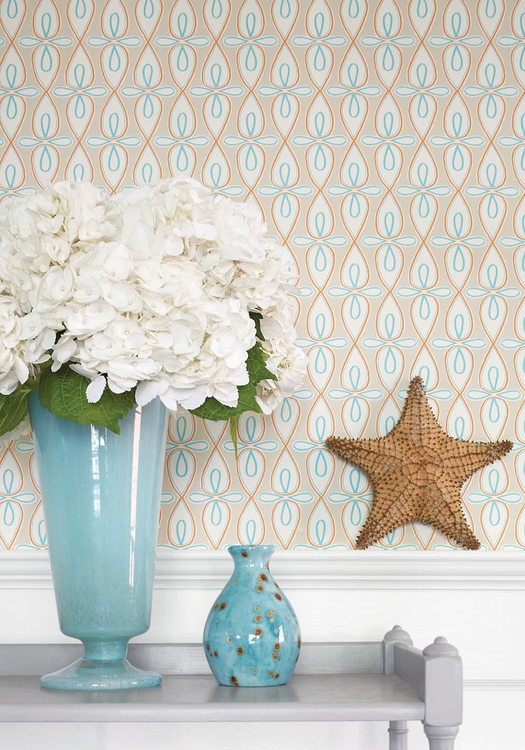 Wallpaper for downstairs bath - Thibaut Resort - Bribie - 135 Best Thibaut Fabric & Wallpaper Images On Pinterest Fabric