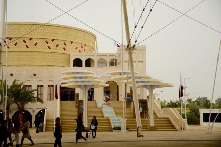 Qatar's Pavillion
