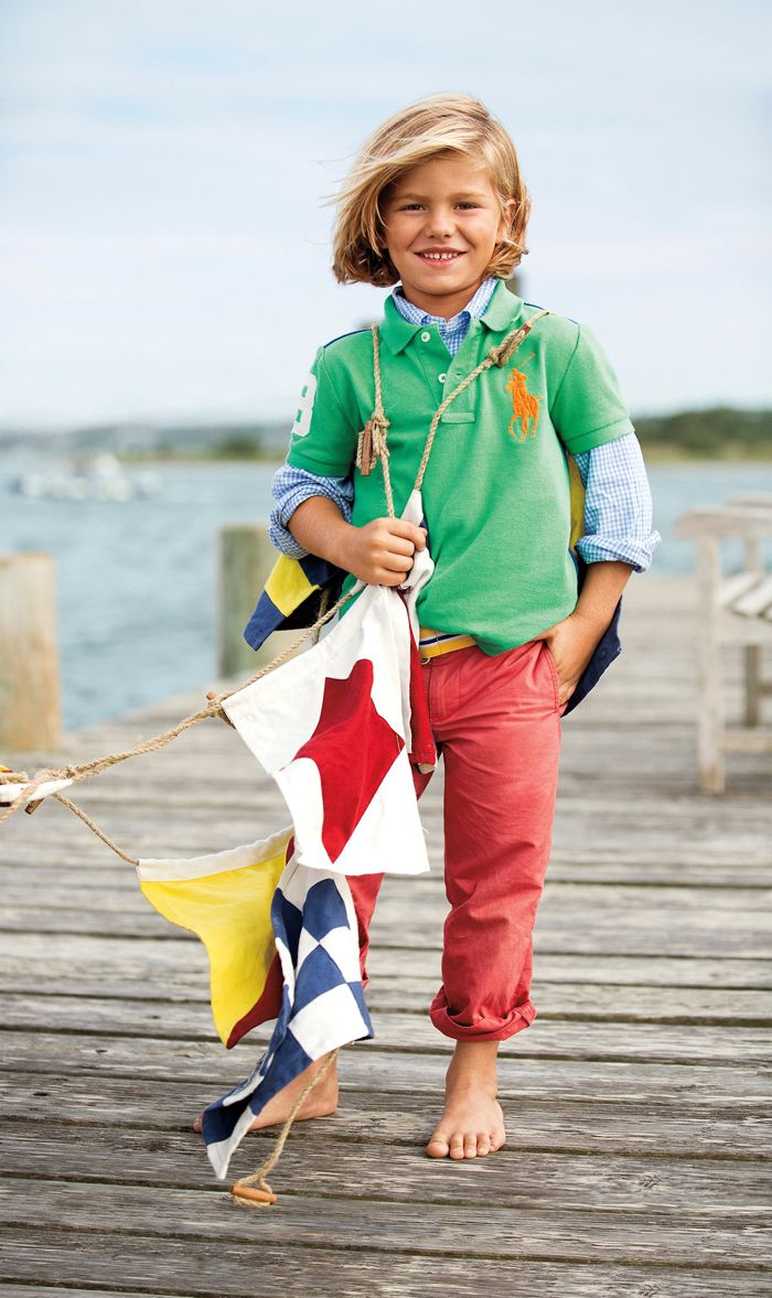 Ralph lauren childrenswear gets you ready for any for Ralph lauren kids