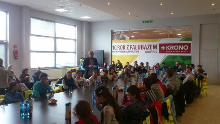 Wizyta dzieci z Ośrodka im. Kornela Makuszyńskiego w Żarach