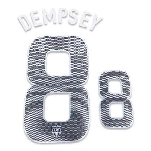 USA 2012/13 Dempsey #8 Youth Away Name Set