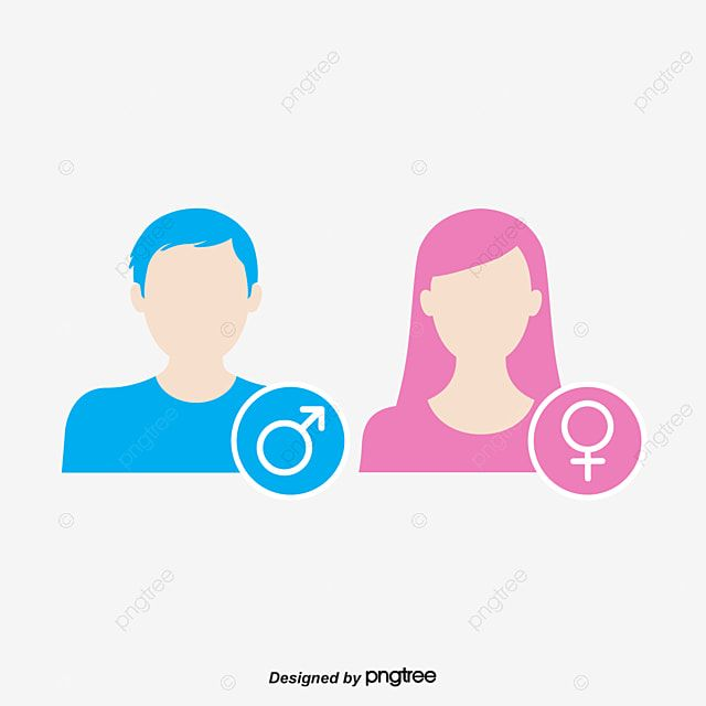 Vector Gender Symbol Pink Girl Blue Man Vector Gender Symbol Png And Vector With Transparent Background For Free Download Pink Girl Pink Painting Mother S Day Background