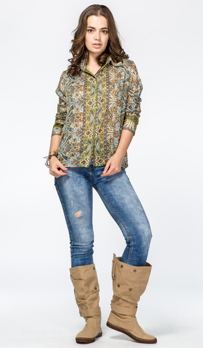 Купить: https://indiastyle.ru/tunics-and-cardigans/product/rubashka-drevnij-ornament  Женская рубашка с узором пейсли - стиль бохо, этника, хиппи, джипси.  Women shirt - hippie, bohemian, gipsy, ethnic style  1820 рублей