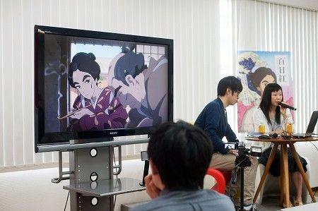 【バンタンゲームアカデミー】コンテンツデザインプログラム★Production I.G 協力!映画「百日紅~Miss HOKUSAI~」を題材とした講演会をレポート!
