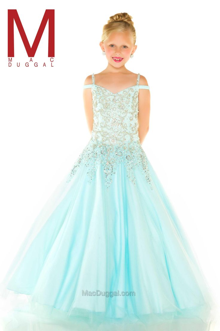 97 best Pageant dresses for 9-10 images on Pinterest | Bridesmaid ...