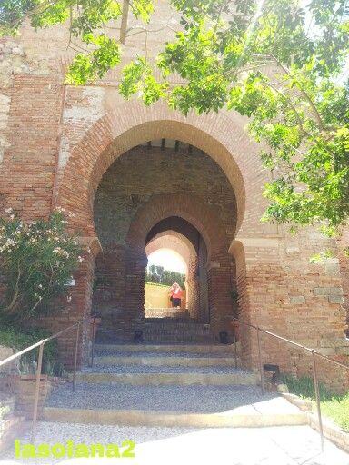 Puerta de la justicia alcazaba de almer a almeria - Puerta europa almeria ...