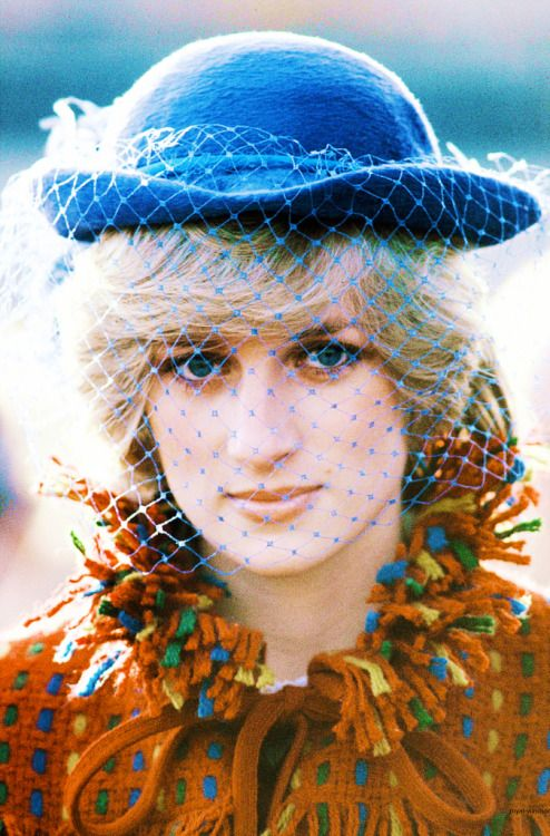 Diana, 1982. And Lady Di had a very cool 80s spirit! We will always miss her royal youthfulness!
