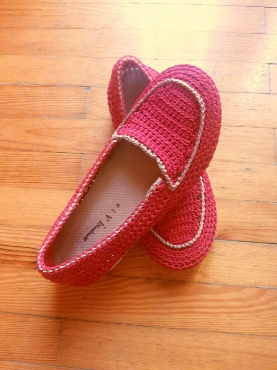 Winter 2016 Winter 2017 Ruby Red shoes crochet