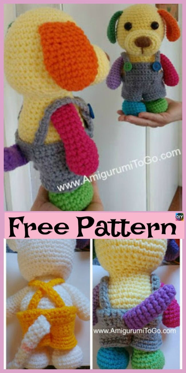 15 Adorable Crochet Puppy Dog Free Patterns Crochet Knit