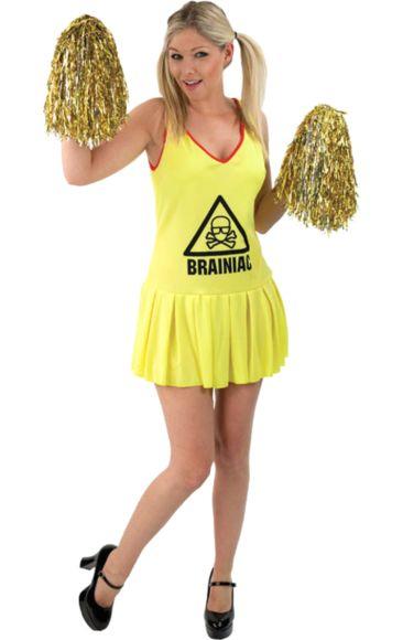 Win An Official Brainiac Cheerleader Fancy Dress Costume!