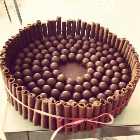 τούρτα maltesers caprice μους σοκολάτα