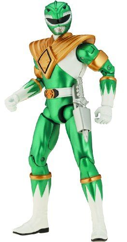 Amazon.com: Power Rangers Super Legends Collectible Action Figure Green Power Ranger: Toys & Games