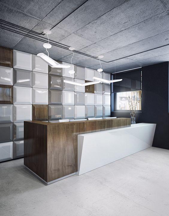 Best 25+ Modern reception desk ideas on Pinterest