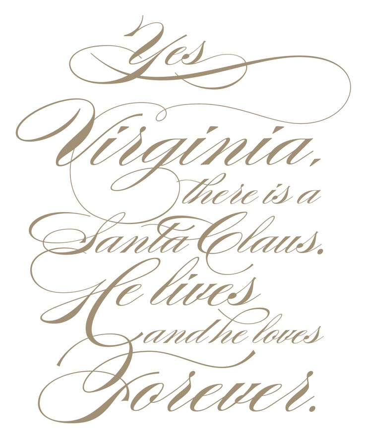 Captivating Yes Virginia, There Is A Santa Claus Christmas Quotes Pinterest Cover A.