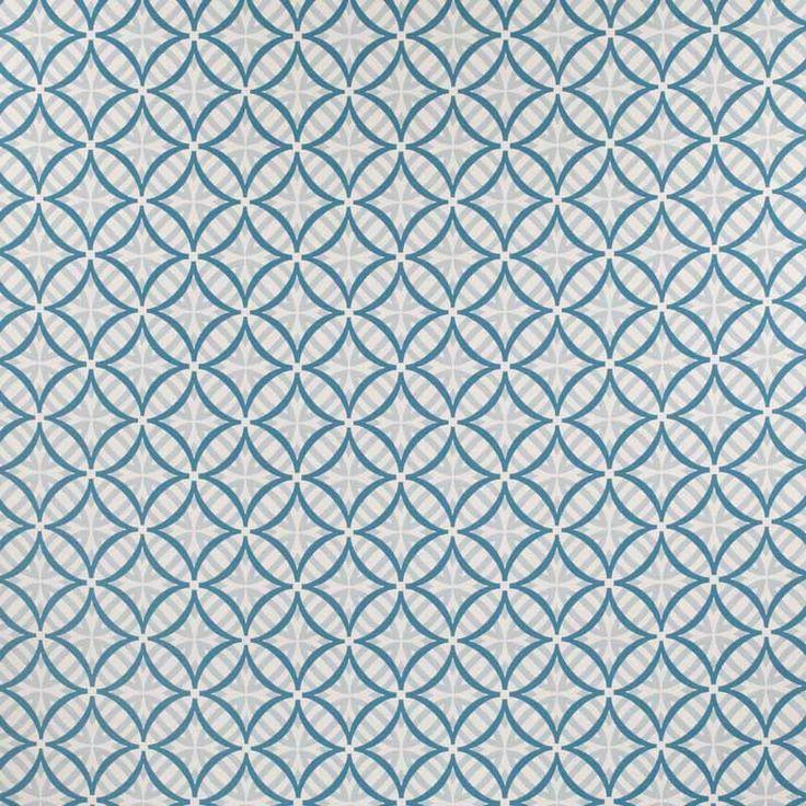 Warwick Fabrics : COOLUM, Colour TURQUOISE