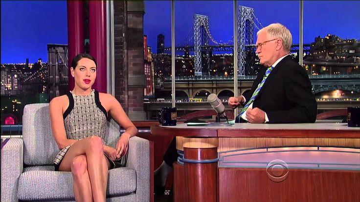 Aubrey Plaza on Letterman (7/17/12)