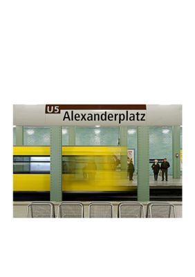 Art.com White Leaving Alex Stretched Canvas Print - Online Only