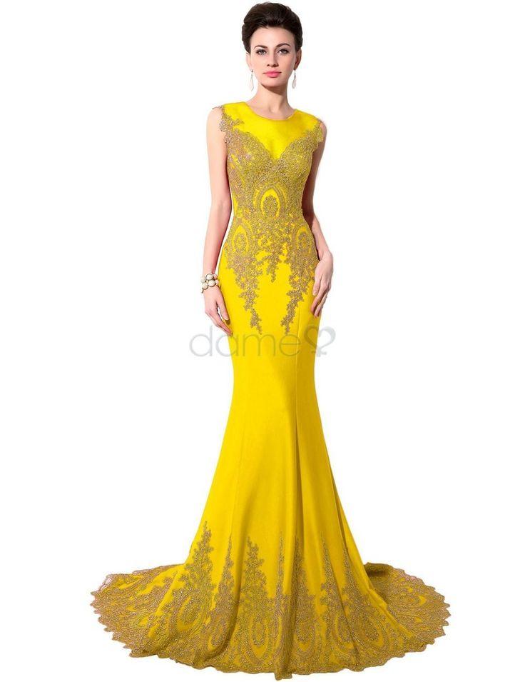 105 best Abendkleider images on Pinterest   Formal prom dresses ...