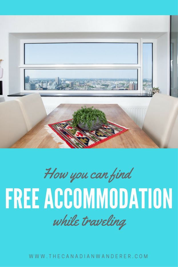 How to Find Free Accommodation - The Canadian Wanderer