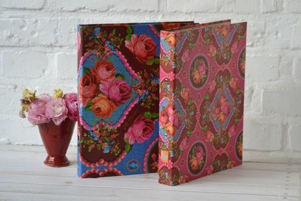Pip Studio * DinA4 Ordner Ringordner * Singing Roses * 4 cm pink blau Rosen