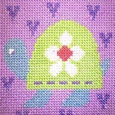 Tortoise - Children's Cross Stitch Kit
