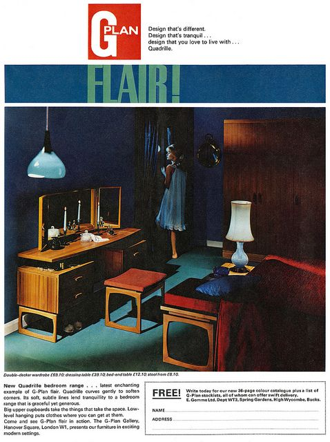 1965 G-Plan Furniture ad | Flickr - Photo Sharing!