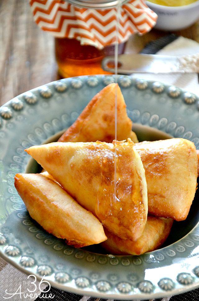 Quick and easy Scone or Sopapilla Recipe at the36thavenue.com.  Do you call these scones or sopapillas?