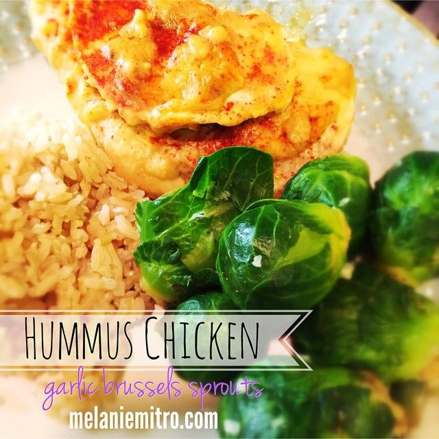 hummus chicken