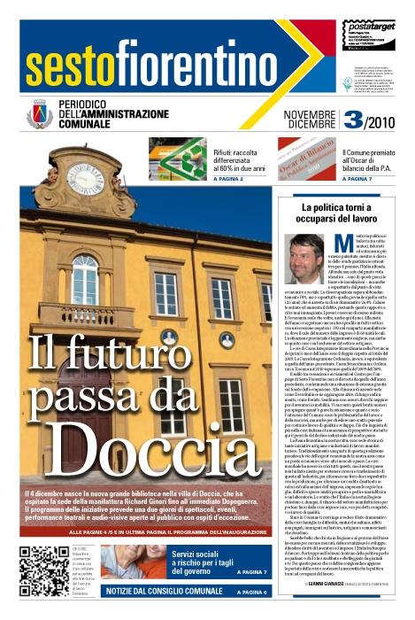 Comune di Sesto Fiorentino | Periodico trimestrale