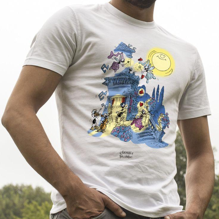 """T-shirt """"Fate"""".  #ant #formica #maglietta #fantasy #fate #incanto"""