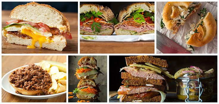 10 Great Sandwich Recipes What's the best thing since sliced bread? Everything that goes between it.