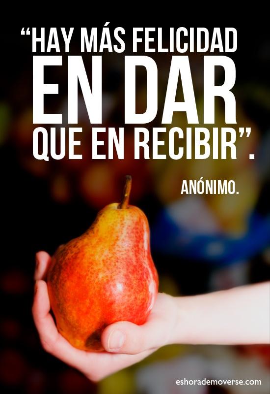 #nolodudes #20minutospordia #frases #dar #recibir