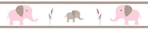 Pink and Taupe Mod Elephant Children and Kids Modern Wall... https://www.amazon.com/dp/B007TA8E16/ref=cm_sw_r_pi_dp_mmcDxb30E1BY6