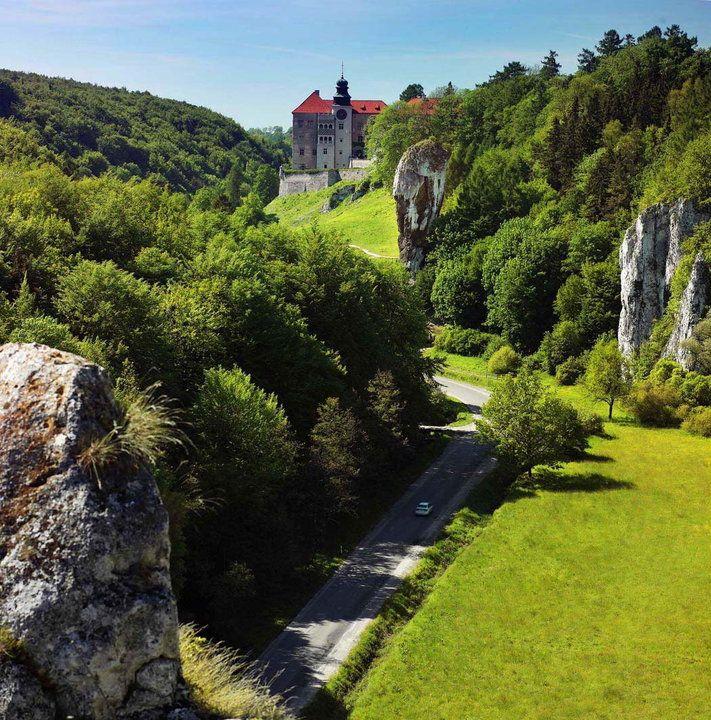 Szlak Orlich Gniazd - opis, zamki, atrakcje, ciekawostki, historia - Podróże