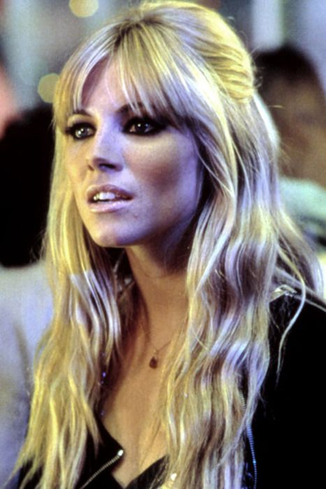 Sienna Miller. O, those long locks! I would kill for hair like that.