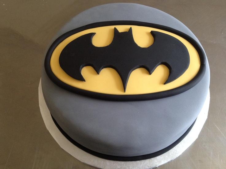 Batman Cake - June 2012...maybe with black skyscraper trim