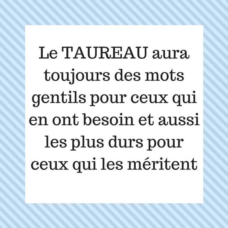 Le #TAUREAU aura toujours des mots gentils pour ceux qui en ont besoin et aussi …