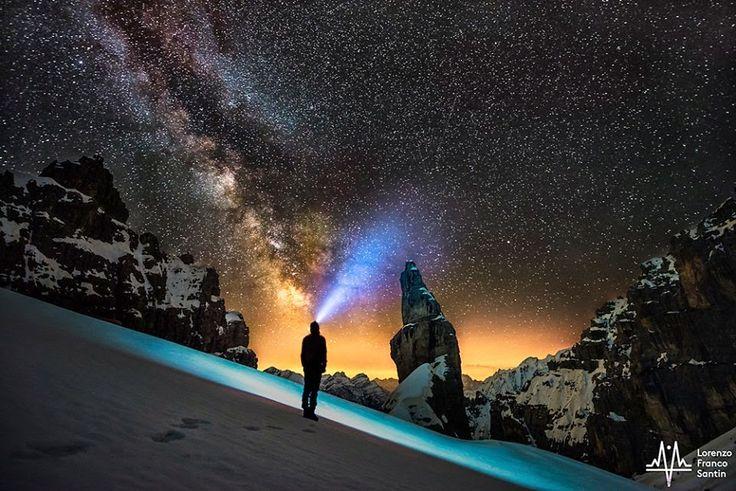 ART'é FvG blog: La Via Lattea sotto il Campanile di Val Montanaia