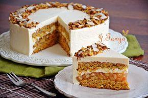 Морковно-айвовый торт оригинал