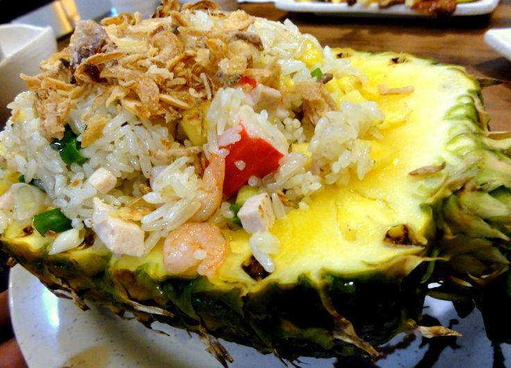 Pineapple rice at Vietnam Garden Restaurant in Kowloon.