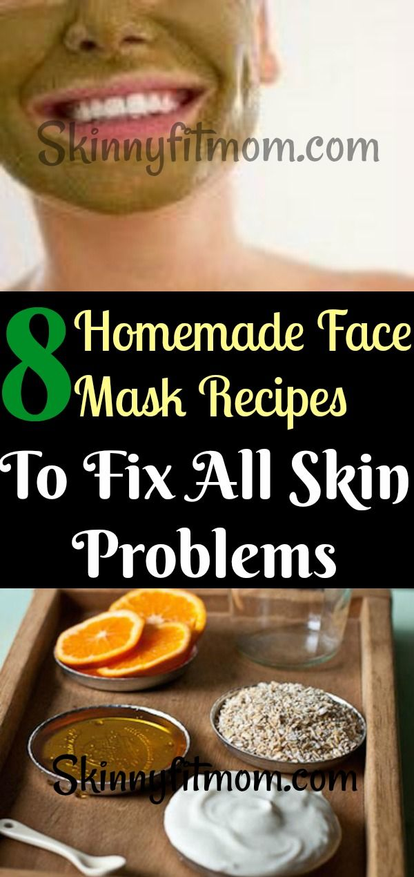 8 Homemade Face Mask Recipes To Fix All Skin Problems