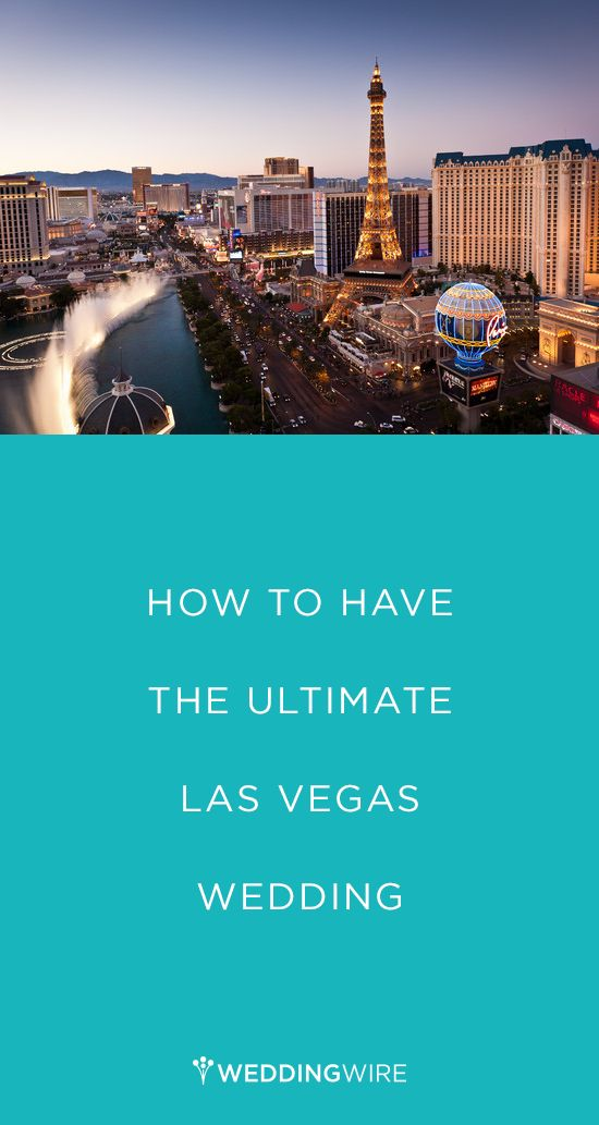 How to have the ULTIMATE Las Vegas wedding! {Photo Courtesy of The Cosmopolitan of Las Vegas}