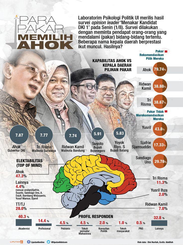 Para Pakar Memilih Ahok (design: Abdillah/liputan6.com)