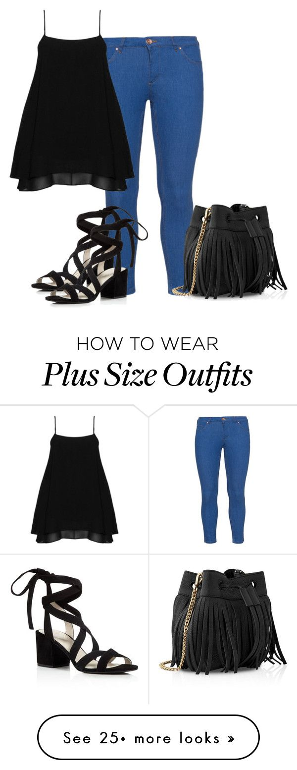 """Plus Size - Weekend"" by kurvy-katie on Polyvore featuring Zizzi, Manon…"