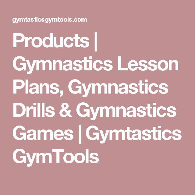Products | Gymnastics Lesson Plans, Gymnastics Drills & Gymnastics Games | Gymtastics GymTools