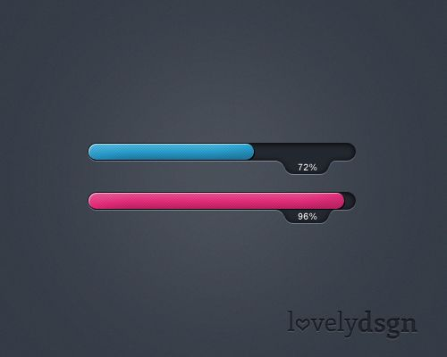 Progress Bar in PSD