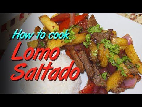 Receta: Como preparar Lomo Saltado, aprendiendo a cocinar deliciosa comida peruana - YouTube